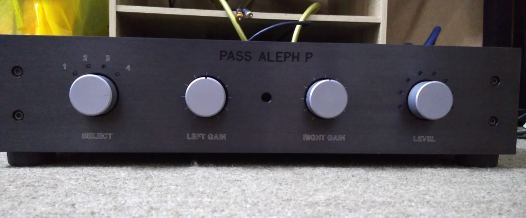 Pass Labs Aleph P (used) reserved Front10
