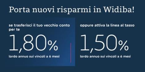WIDIBA promo vincoli 1,80% a 6 mesi [promozione scaduta il 31/03/2019] Cattur19
