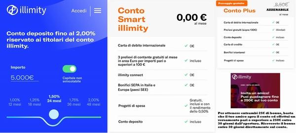 """ILLIMITY: PROMOZIONE """"INVITA UN #ILLIMITER"""" in REGALO 25€ al presentatore ed al presentato! Illimi10"""