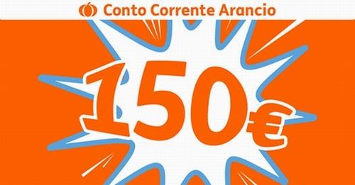 CONTO CORRENTE ARANCIO regala € 150 BUONI CARBURANTE TOTAL ERG [promozione scaduta il 31/01/2019] S10
