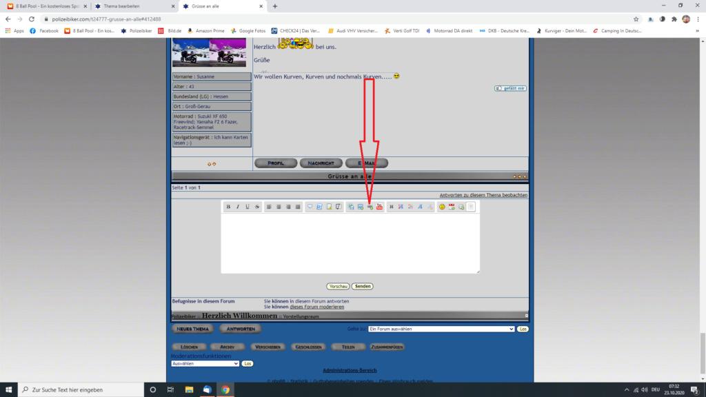 Kurzer Link Screen32