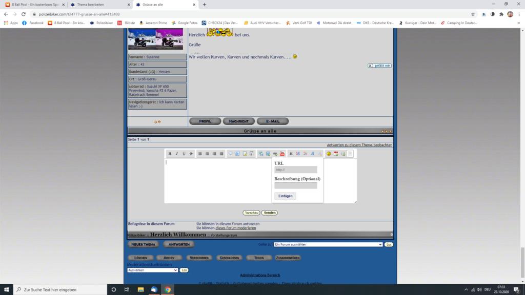 Kurzer Link Screen33
