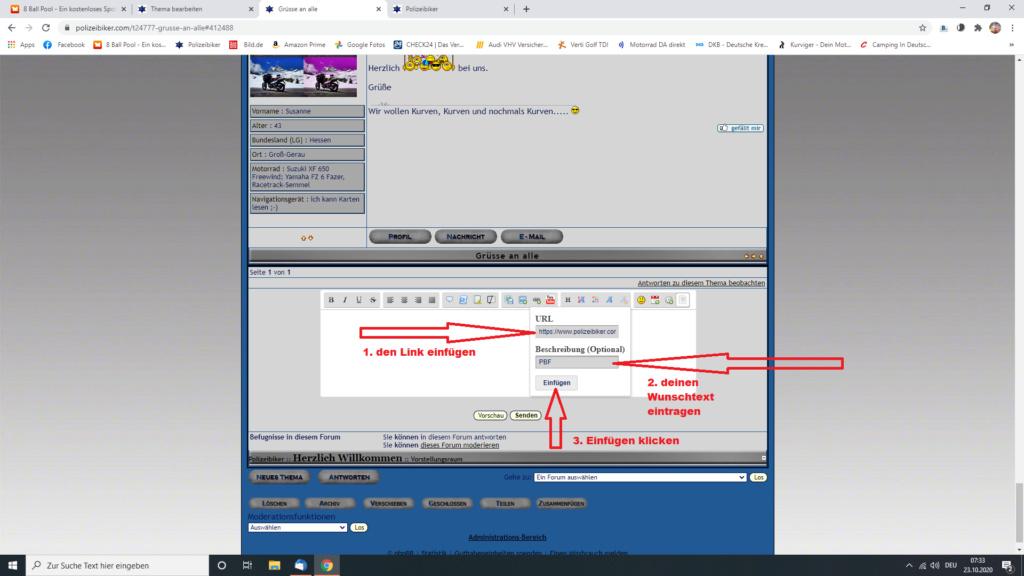 Kurzer Link Screen34