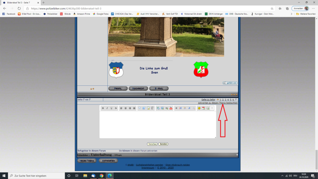 Ein Thema beobachten Screen52