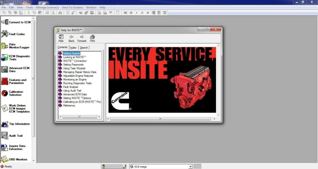 Cummins Insite 8.5 Pro Insite10