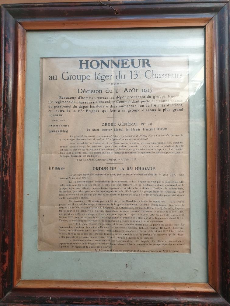 Certificat de bonne conduite et Honneur au Groupe Léger.... 20190912