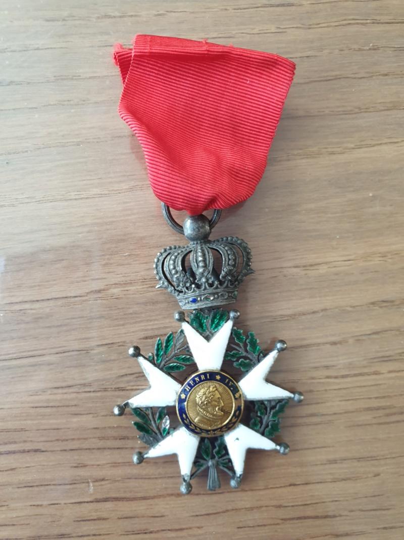 Legions d'honneur Henri IV avec courronne impériale 20190920