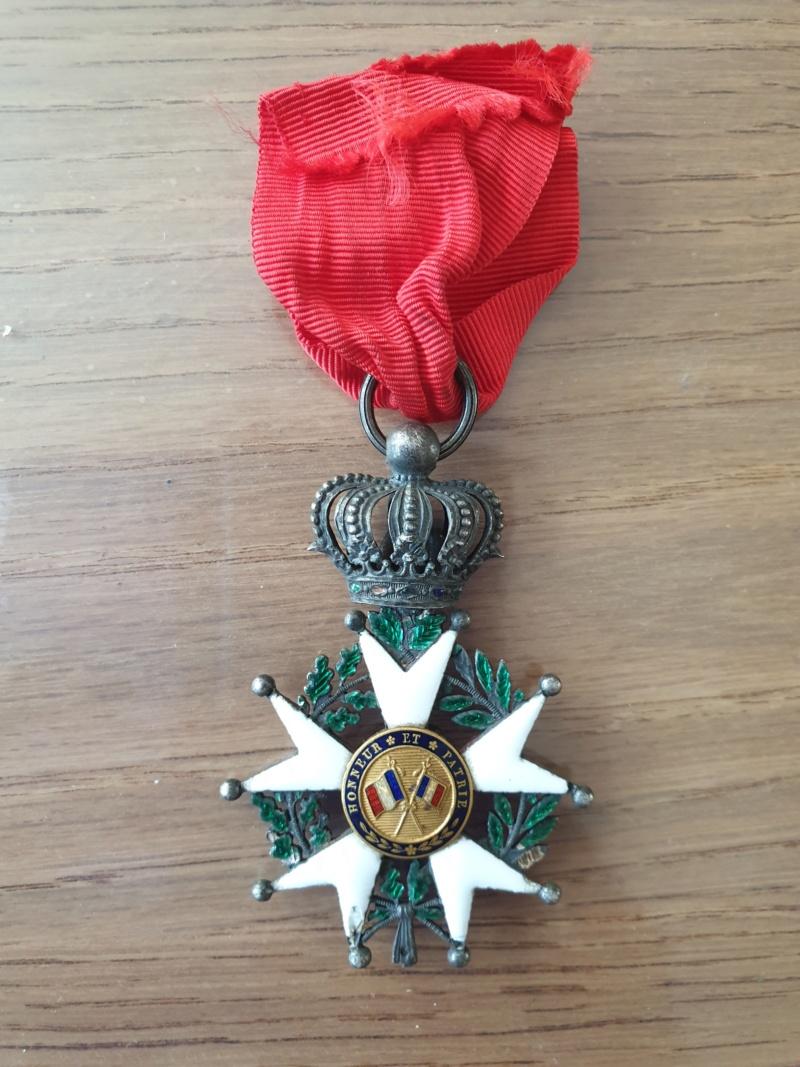 Legions d'honneur Henri IV avec courronne impériale 20190922