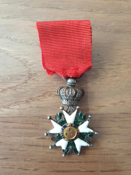 Legions d'honneur Henri IV avec courronne impériale 20190923