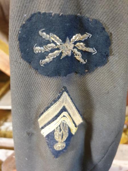 veste us gendarmerie  pas courante  20200913