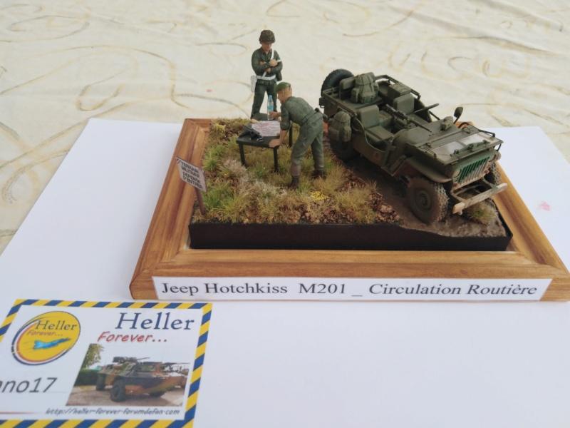 [ITALERI] Jeep Hotchkiss M201 circulation routière ( Italeri avec conversion Best Valu Modèle , 1/35 ) 1813