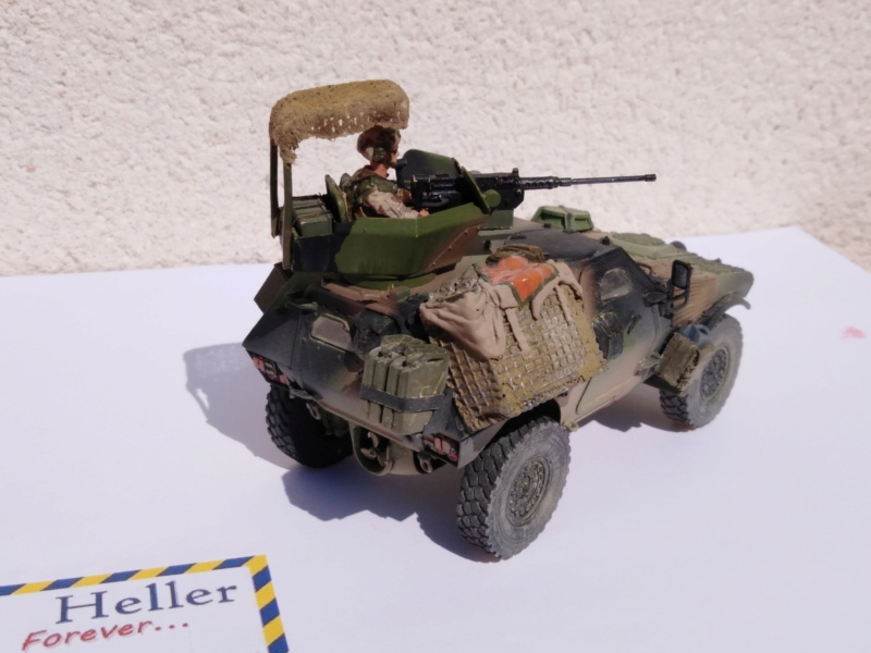 vbl , Tiger Model 1/35 , tourelle 12,7  4311