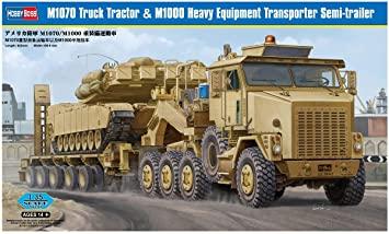 [HOBBY BOSS] Camion lourd OSHKOSH M 911 C HET et remorque M747 Réf 85519 71x0bs10