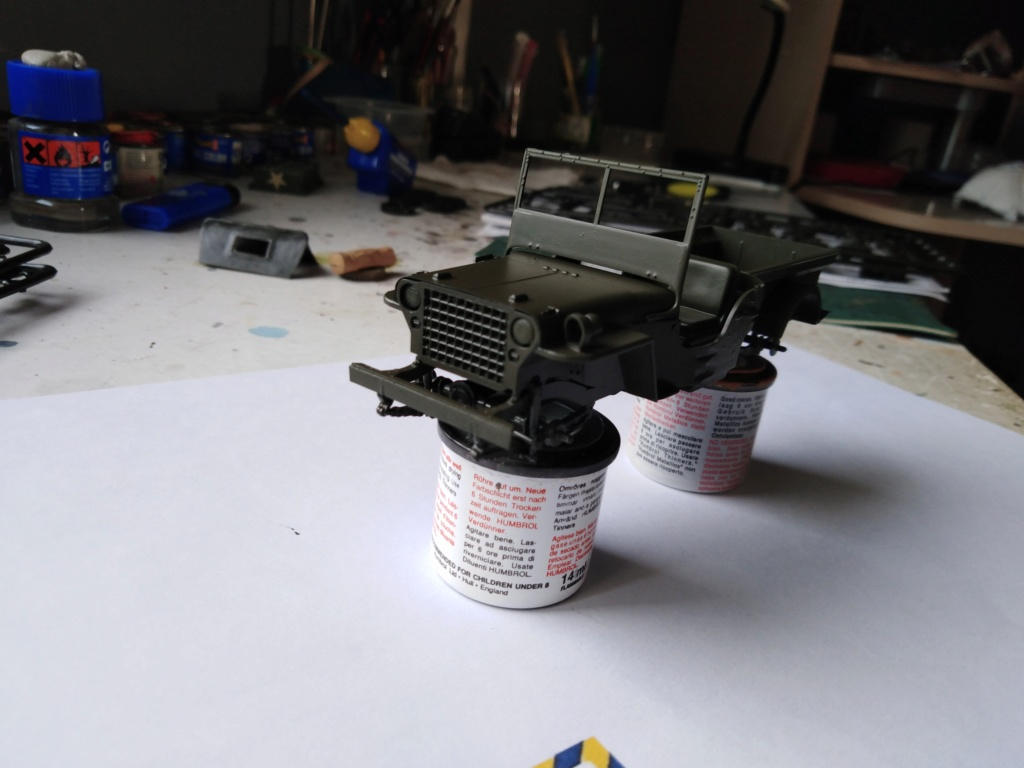 Jeep pick-up ( Italeri ) 1/35 910