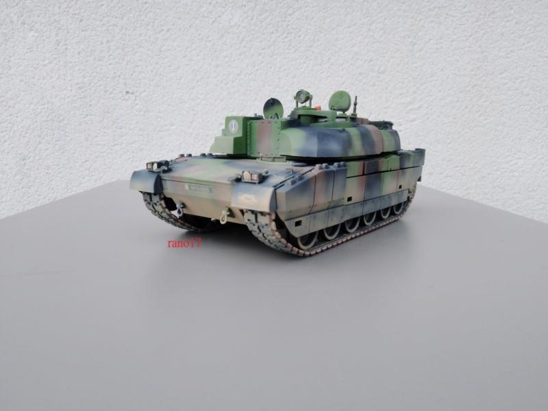Leclerc MARS , base Heller  et scratch 1/35  Lecler72