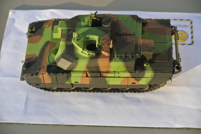 Leclerc MARS , base Heller  et scratch 1/35  Lecler73
