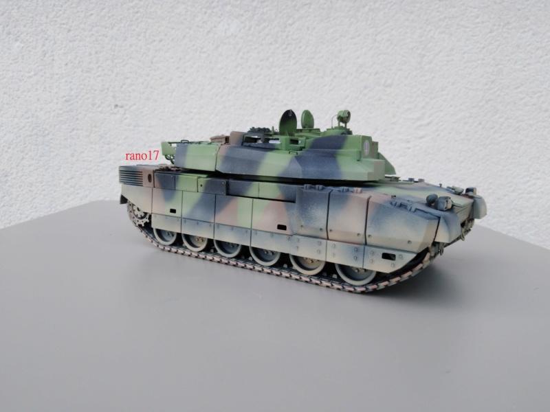 Leclerc MARS , base Heller  et scratch 1/35  Lecler74