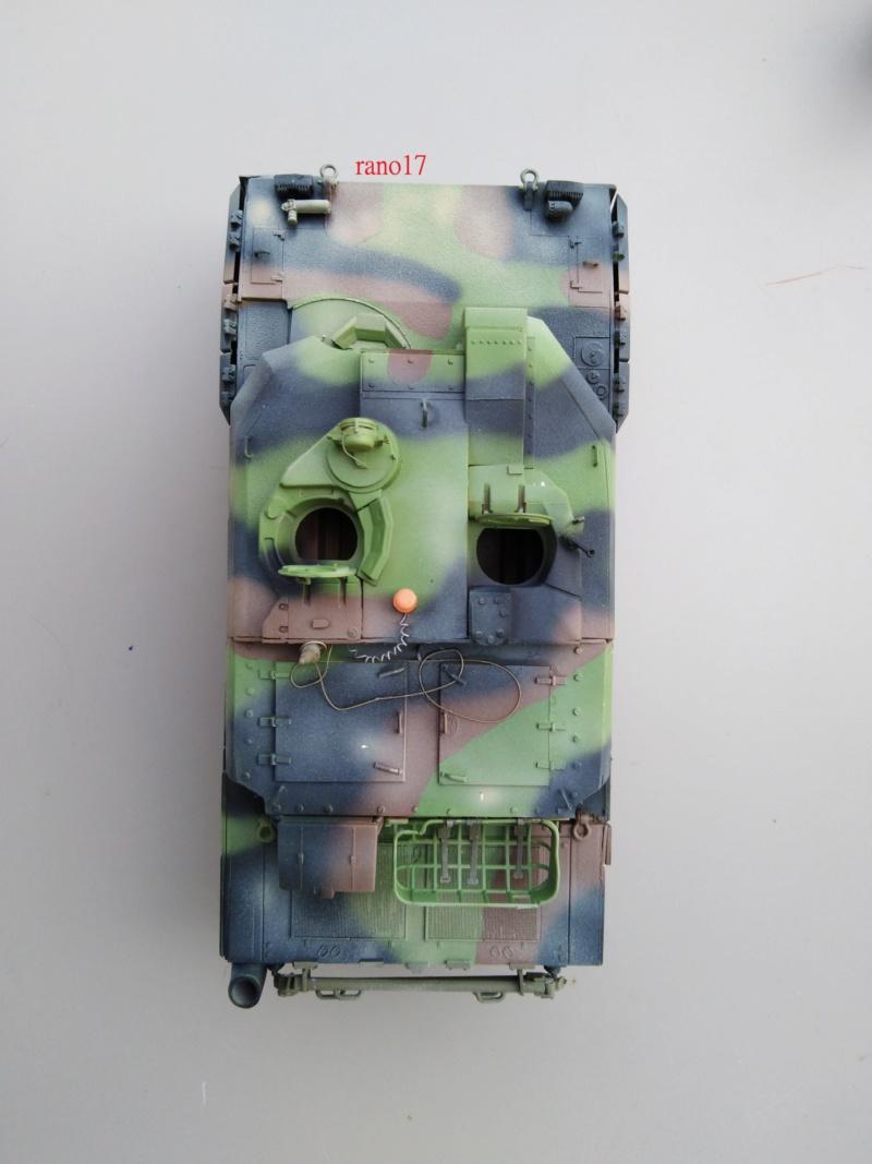 Leclerc MARS , base Heller  et scratch 1/35  Lecler75