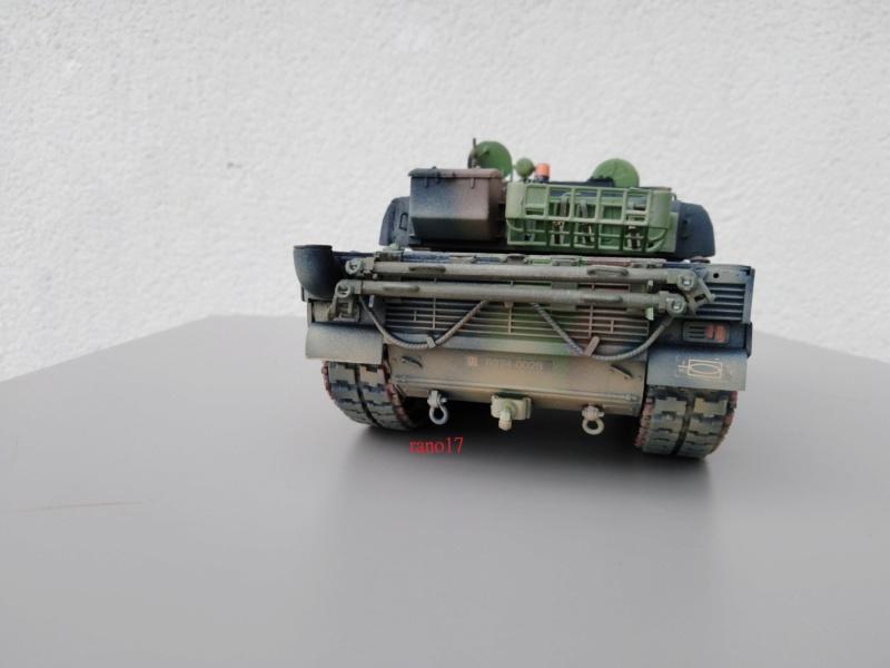 Leclerc MARS , base Heller  et scratch 1/35  Lecler76