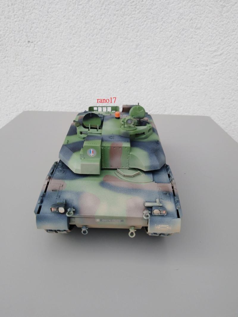 Leclerc MARS , base Heller  et scratch 1/35  Lecler77