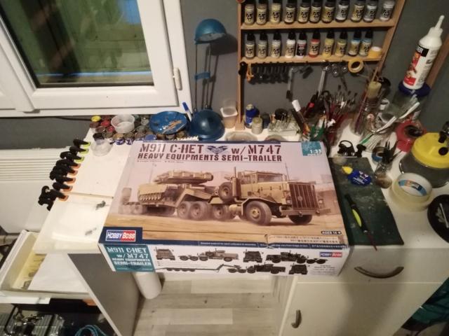 [HOBBY BOSS] Camion lourd OSHKOSH M 911 C HET et remorque M747 Réf 85519 M911_216