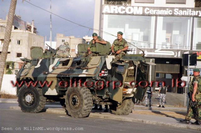 VAB Armée Libanaise , Azimut Production 1/35 Vab_li12