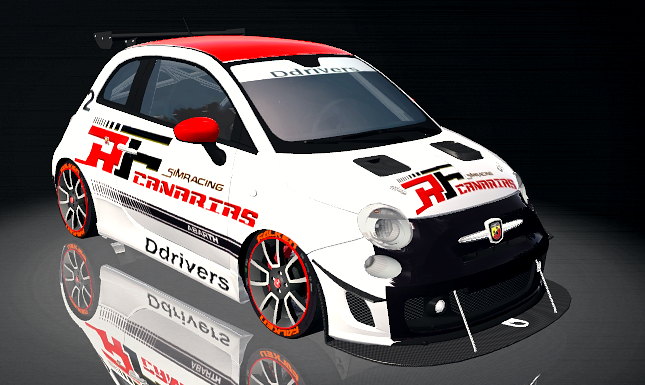 MOD FIAT 500 ABARTH CUP Ddrver10