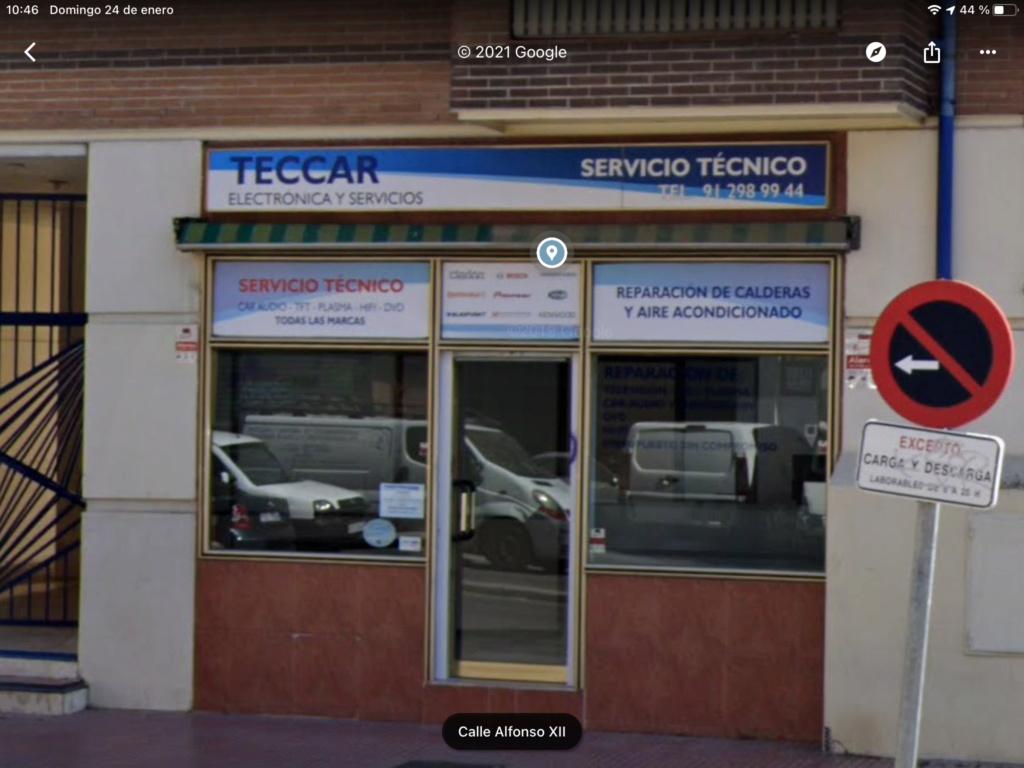 [ RADIO CD ] Servicio Técnico Clarion Madrid Ff256c10