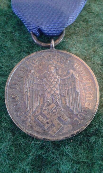 Médaille 12 ans lufwaffe  20200342
