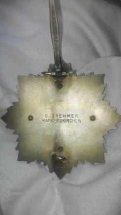 Badge allemand , pour avis scp 66774f10
