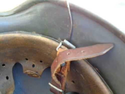 Intérieur et jugulaire casque allemand  _84_226