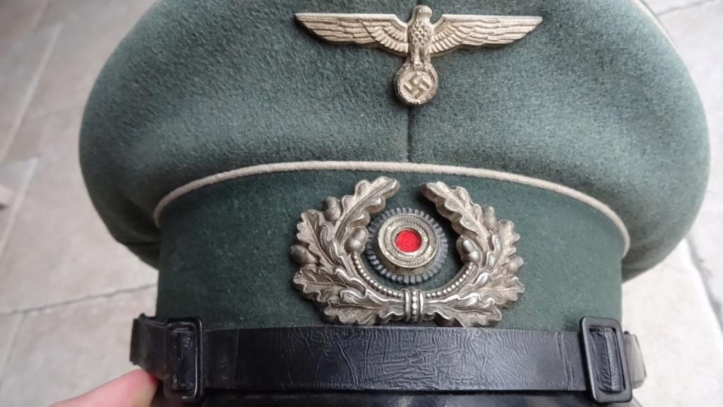 Casquette sous officier infanterie  Dsc02612
