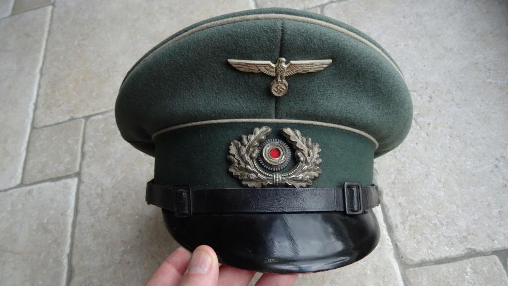 Casquette sous officier infanterie  Dsc02613