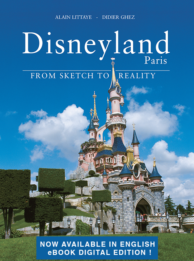 Valentine's Day Special Offer on Disneyland Paris, From Sketch to Reality Book Digital Edition! Dlp_bo10