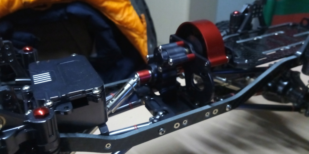 Jk unlimited sur chassis alu P_201911