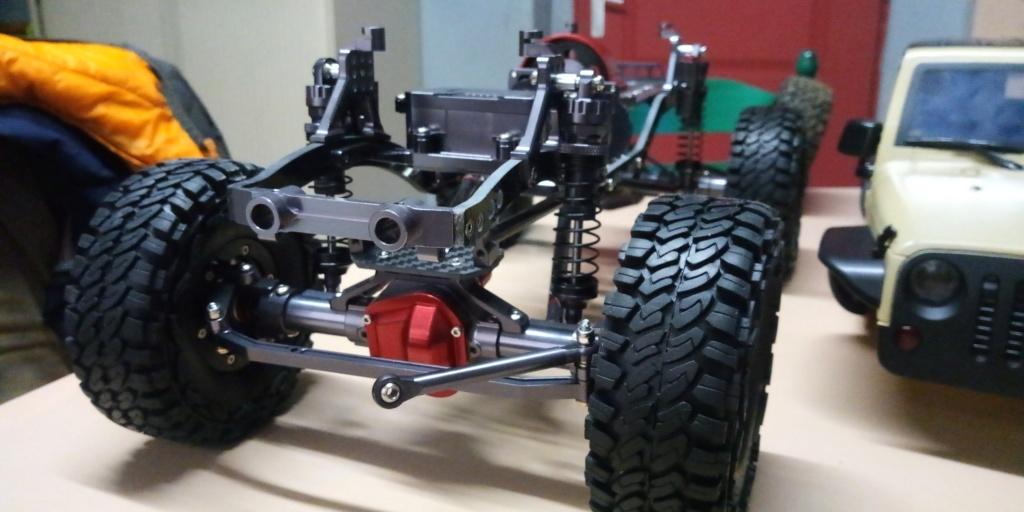 Jk unlimited sur chassis alu P_201912