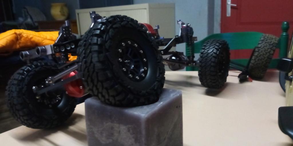 Jk unlimited sur chassis alu P_201913