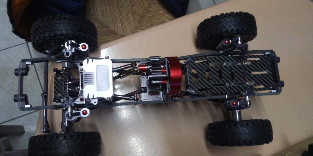 Jk unlimited sur chassis alu P_201914