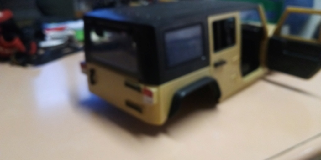 Jk unlimited sur chassis alu P_201916