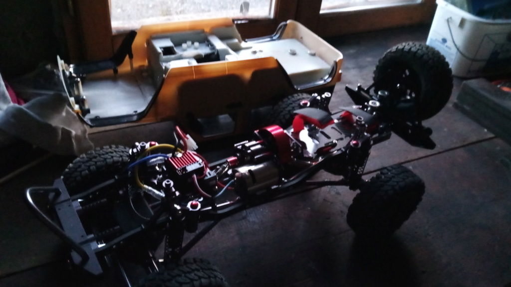 Jk unlimited sur chassis alu P_201922