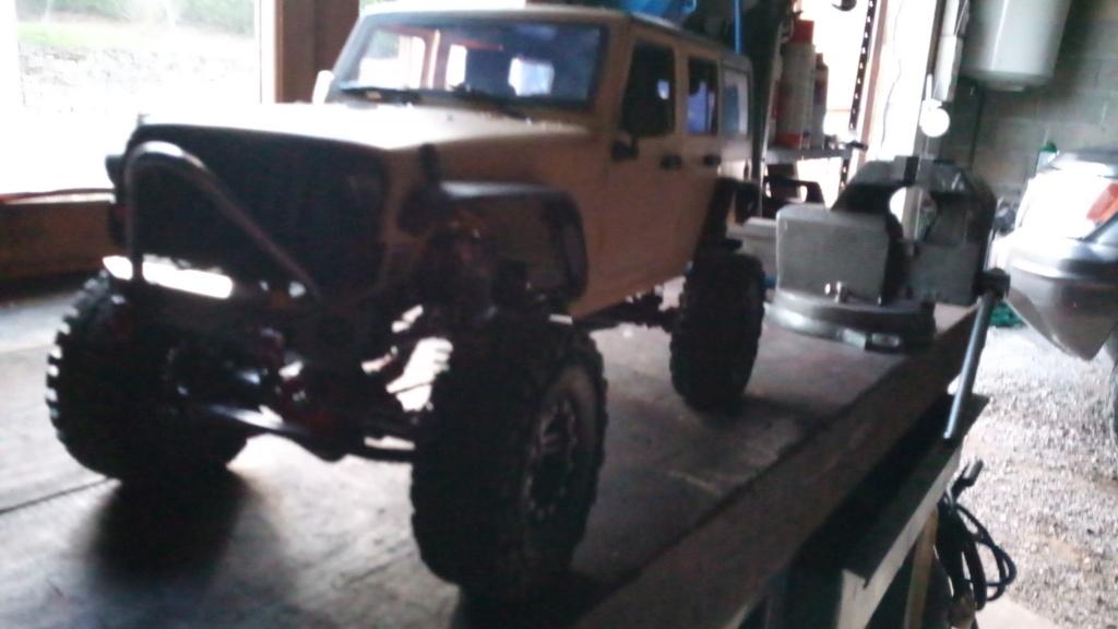 Jk unlimited sur chassis alu P_201924