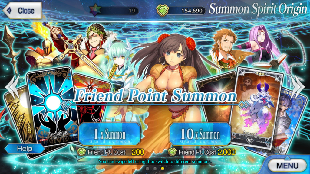 Review: Fate Grand Order (Mobile) Friend10