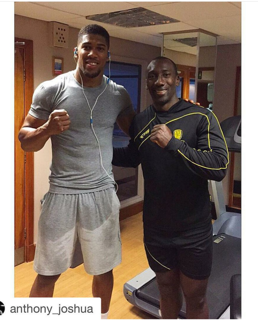 ¿Cuánto mide Anthony Joshua? - Real height Img_2098