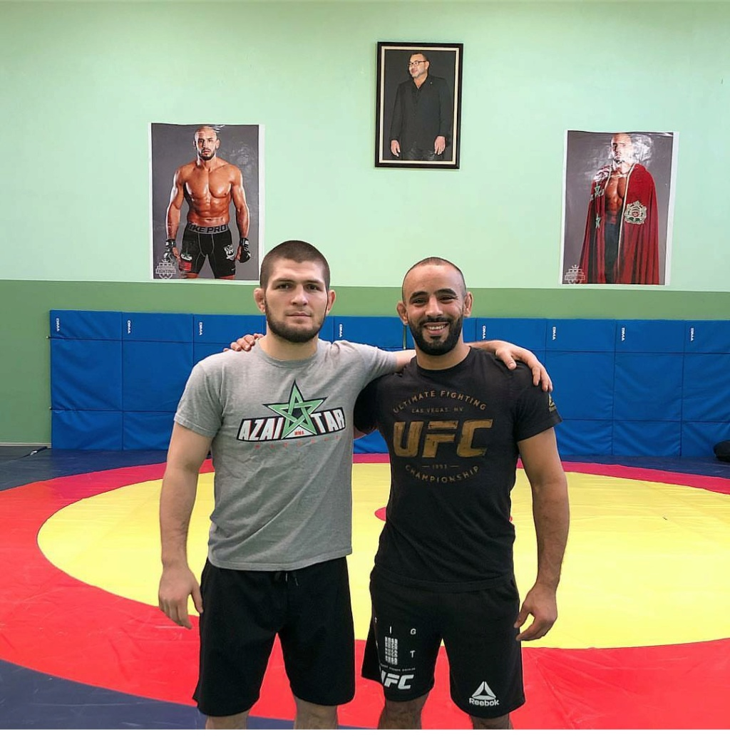 ¿Cuánto mide Khabib Nurmagomedov? - Real height Img_2180