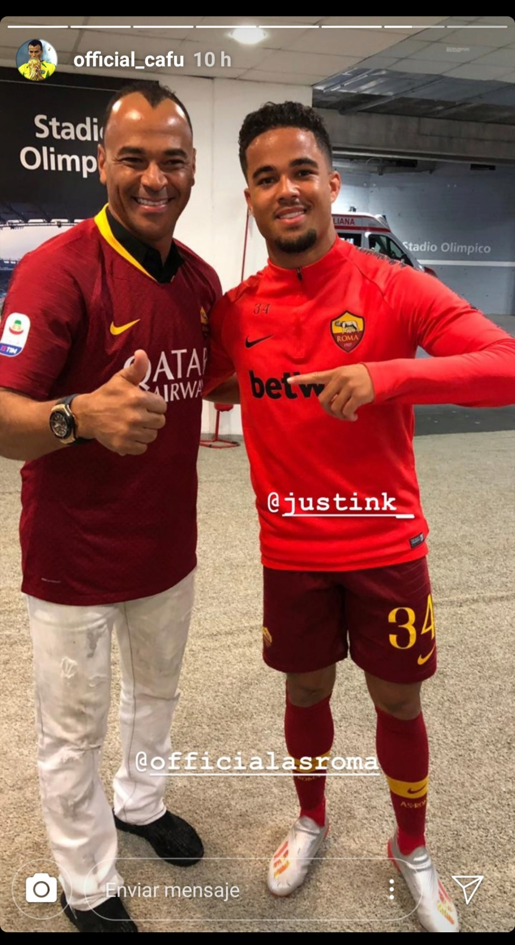 ¿Cuánto mide Justin Kluivert? - Real height Img_2215