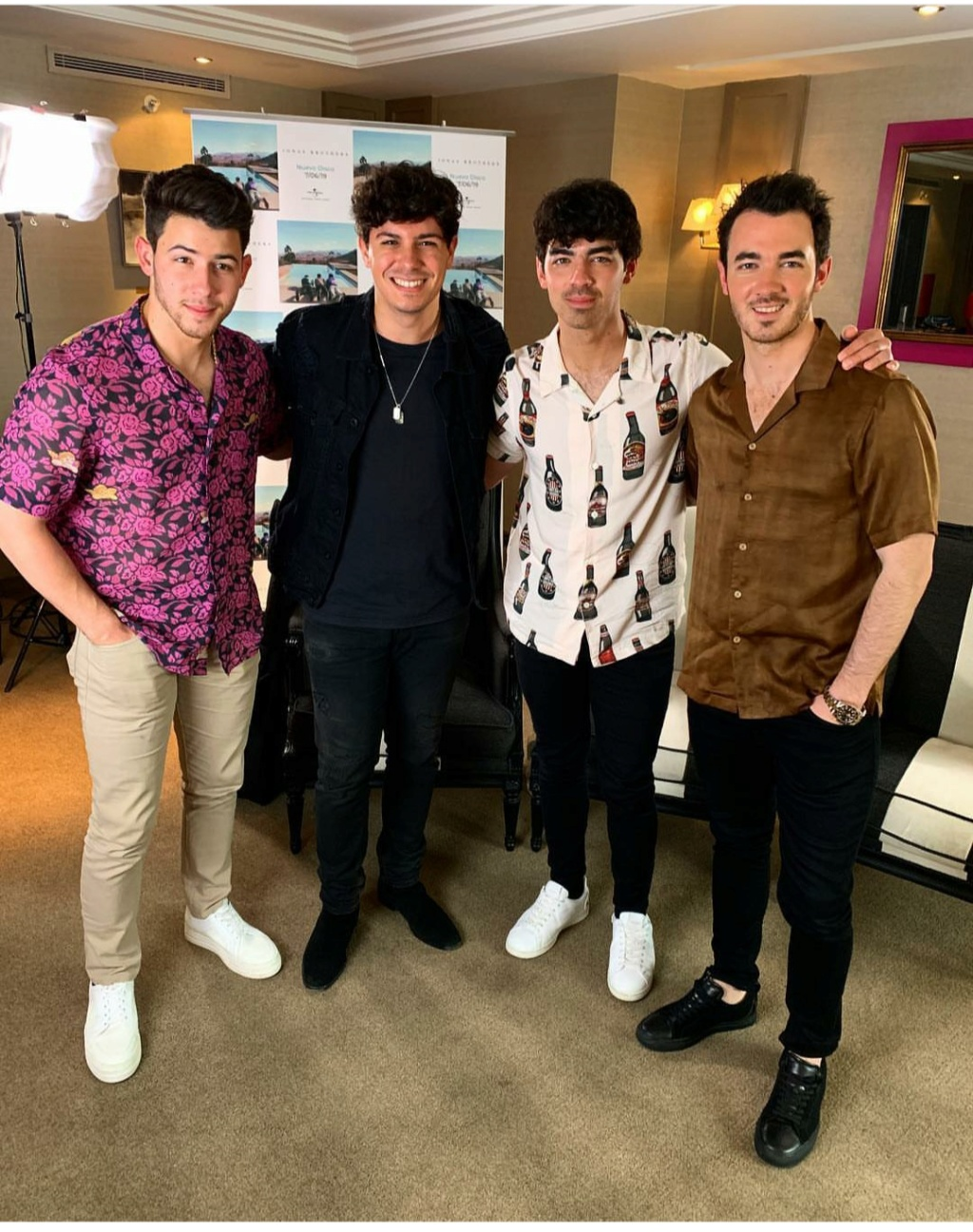 ¿Cuánto mide Joe Jonas? - Altura - Real height Img_2251