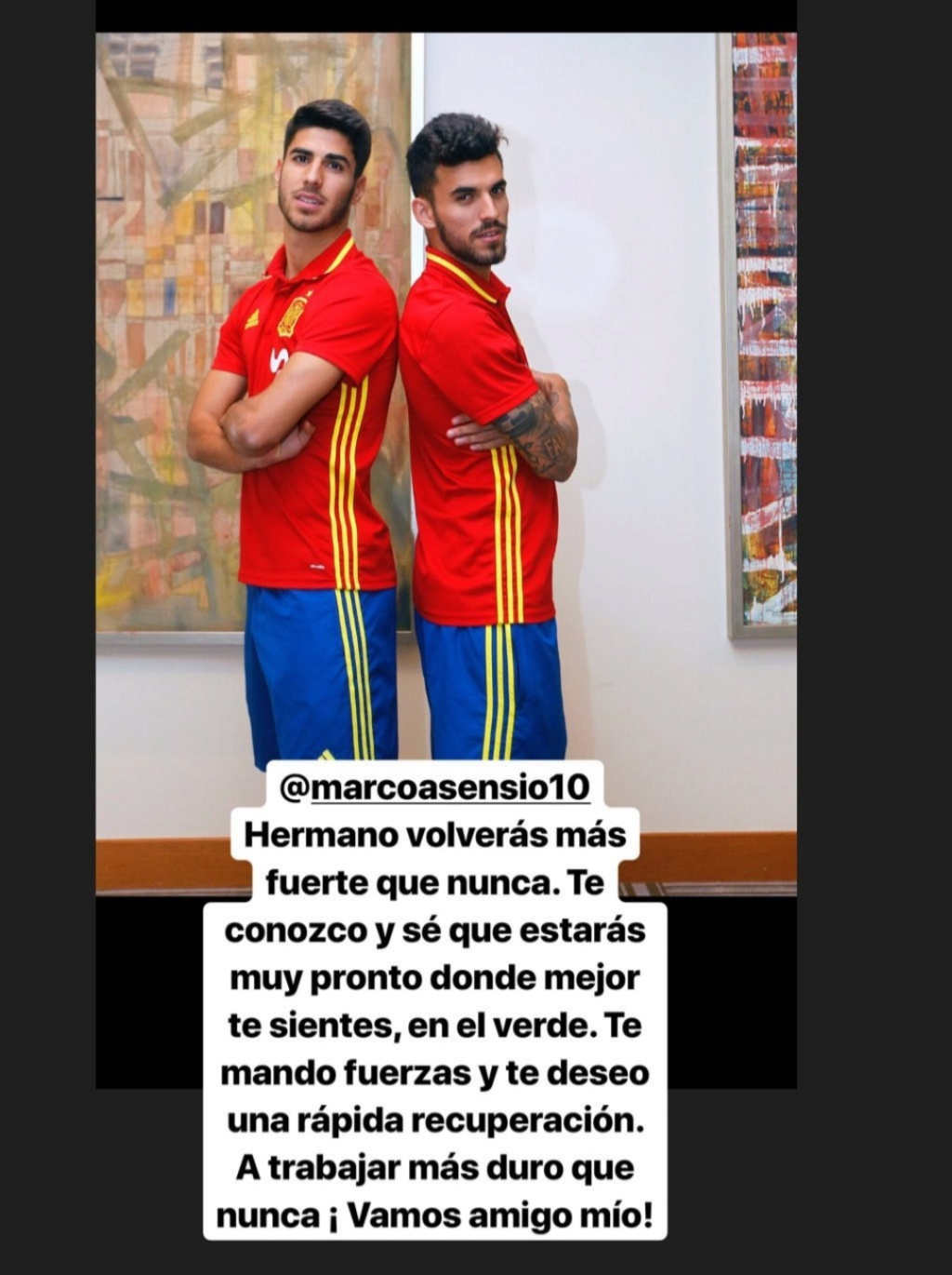 ¿Cuánto mide Marco Asensio? - Altura - Real height Img_2379