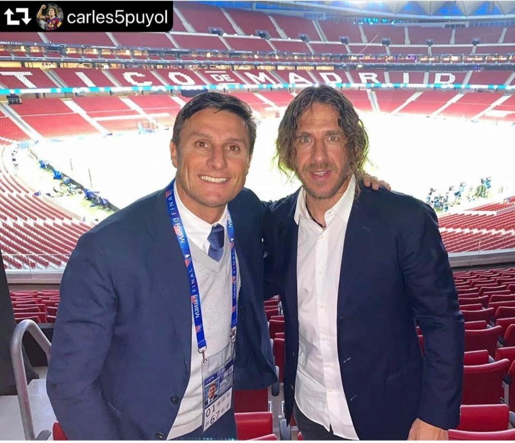 ¿Cuánto mide Javier Zanetti? - Altura - Real height Img_2478