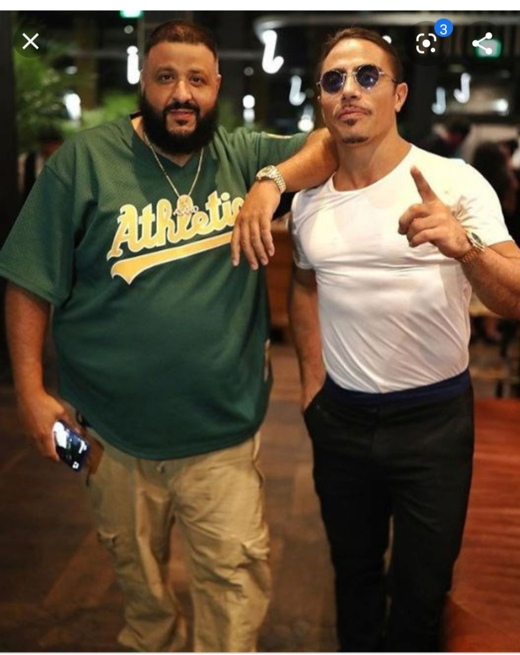 ¿Cuánto mide DJ Khaled? - Altura - Real height Img_2699