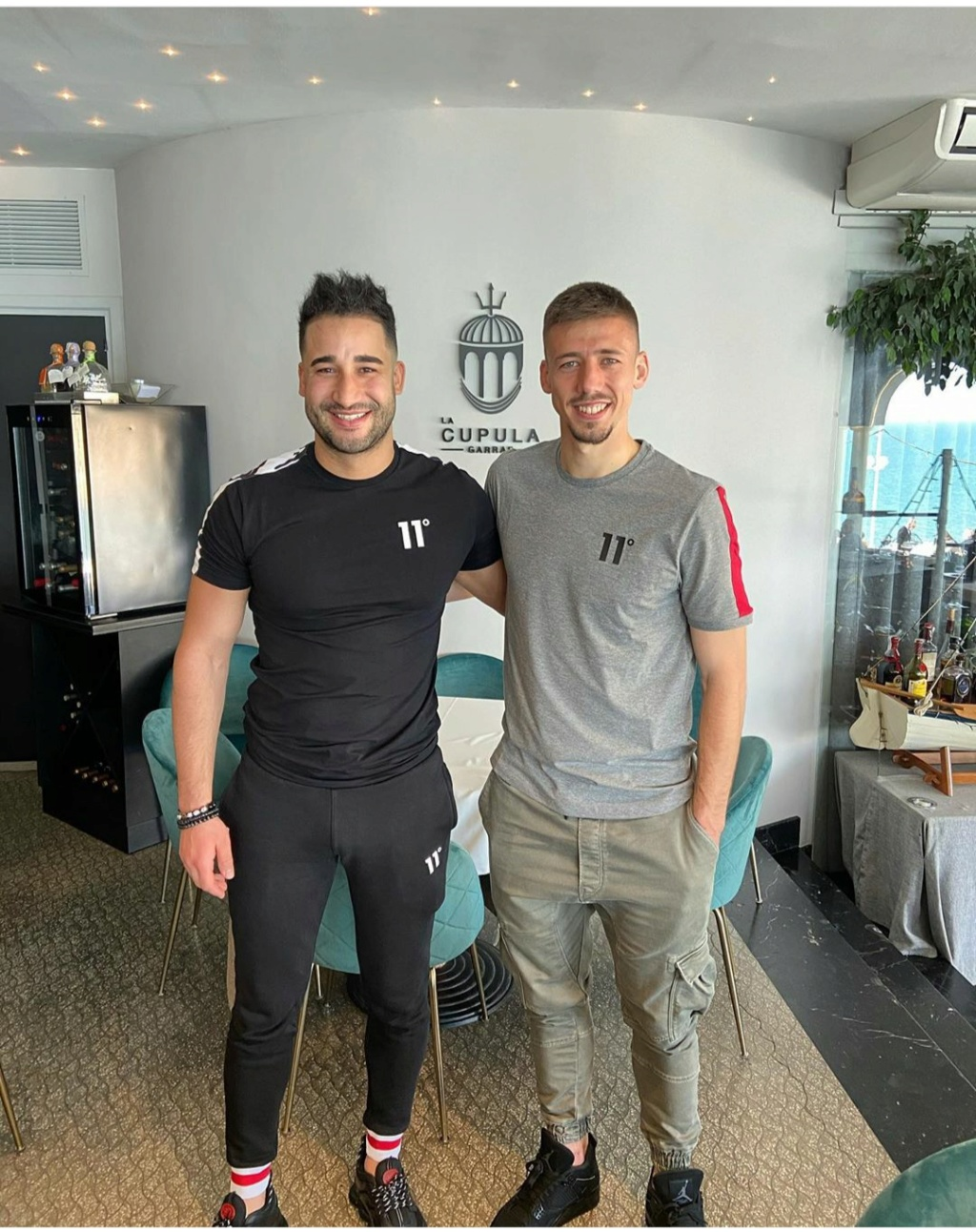 ¿Cuánto mide Clement Lenglet? - Real height Img_2734